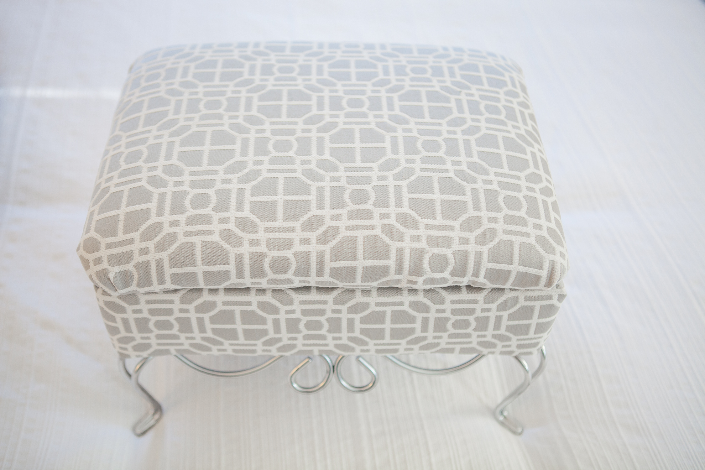 Storage Footstool - After