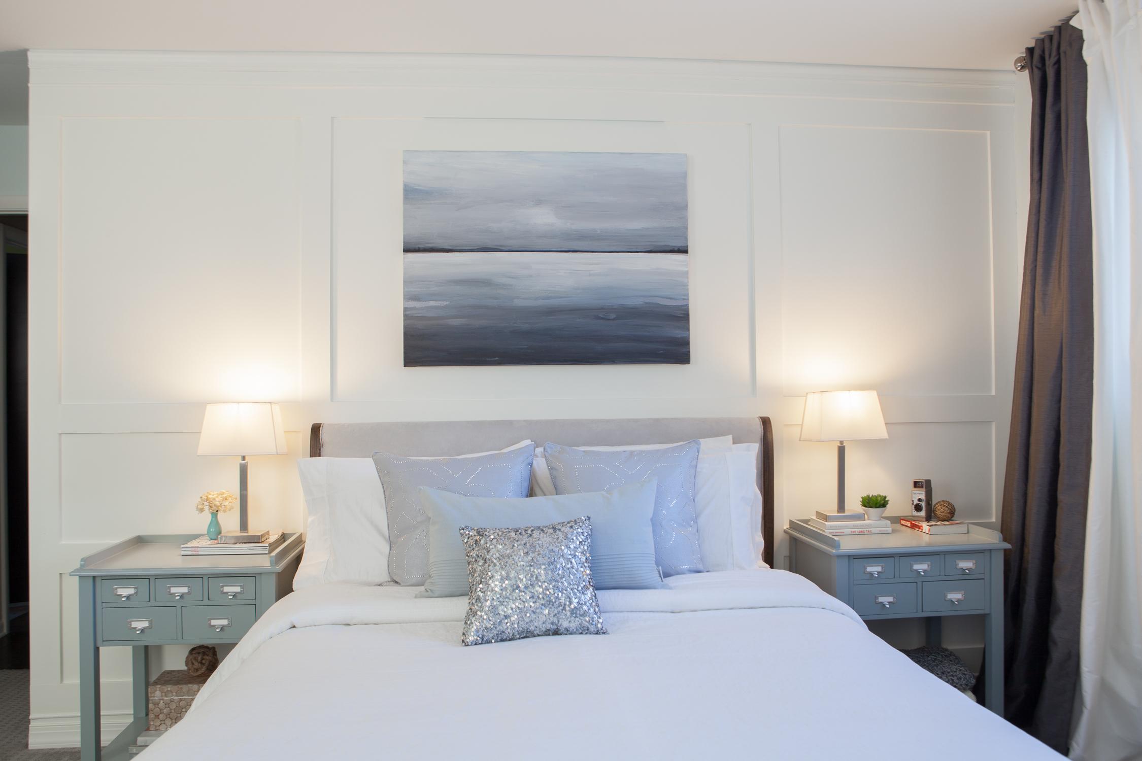 Master Bedroom Renovation Fuchsia Design