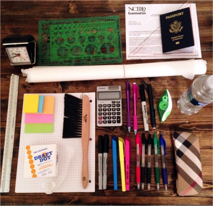 What to pack for the practicum exam