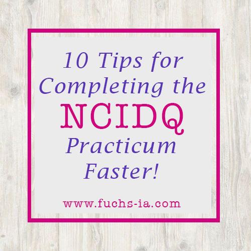 NCIDQ Tips for the Exam