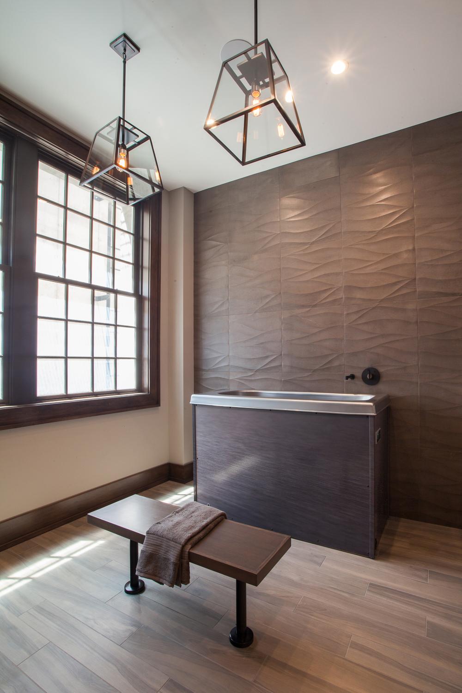Locker Room Cold Tub