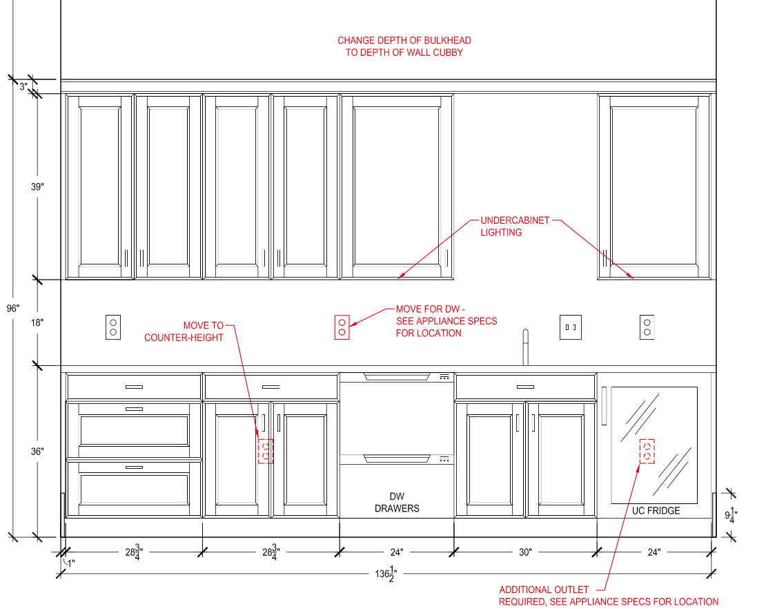 Snack Bar Layout