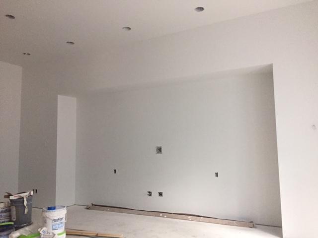 Media Wall Progress Shot