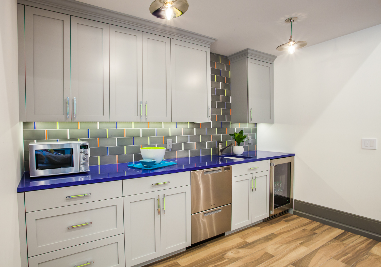 Fuchsia Design, Lake House, Pratt and Larson, Cambria Quartz, Grand Rapids Interior Design, West Michigan