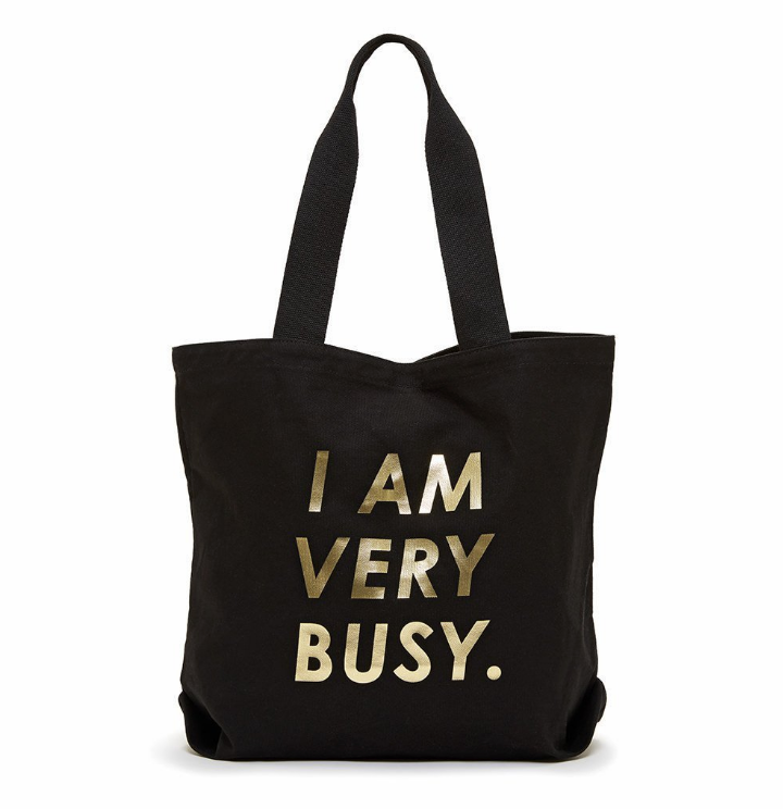 I am Very busy bag