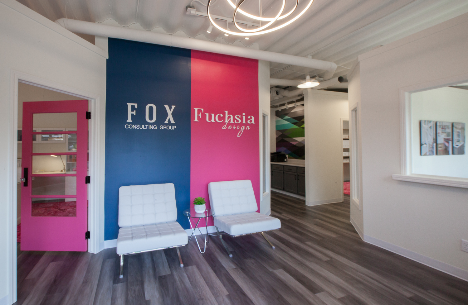 Fuchsia Design and Fox Consulting Group Office Space
