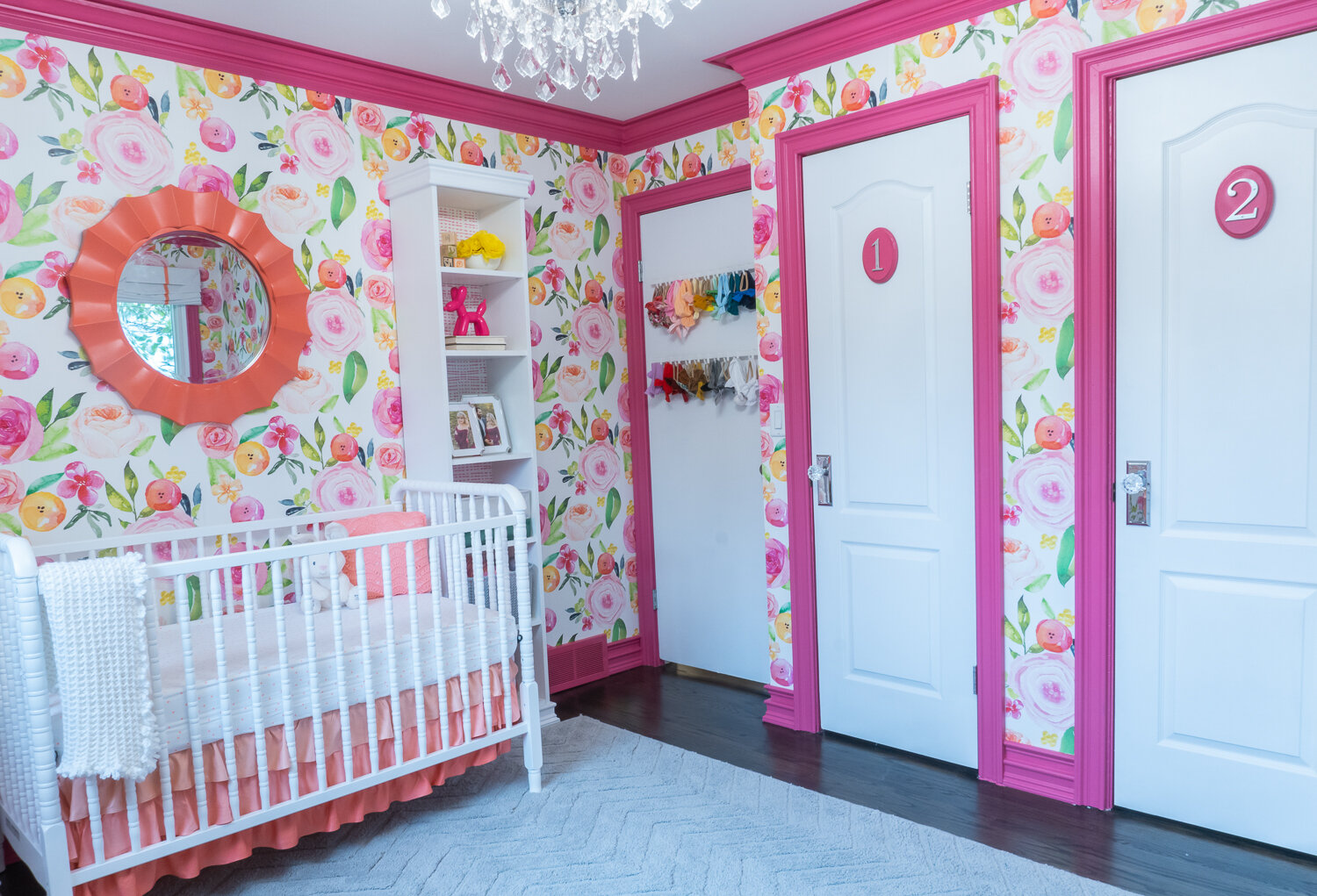 She's not even born yet, and her bow collection on the back of the door has already exceed 50. Oops!