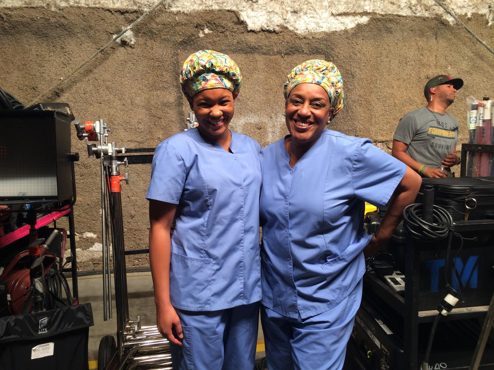 Jazzy Ellis - Stunt Double for CCH Pounder on NCIS New Orleans