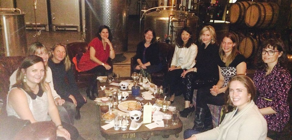 L-R: LAURA, MAIJA, CARRIE, KATIA, CHRISTINE, ASTRID, JEN, KATE, LAURIE, ELISA AND NANA (NOT PICTURED!)