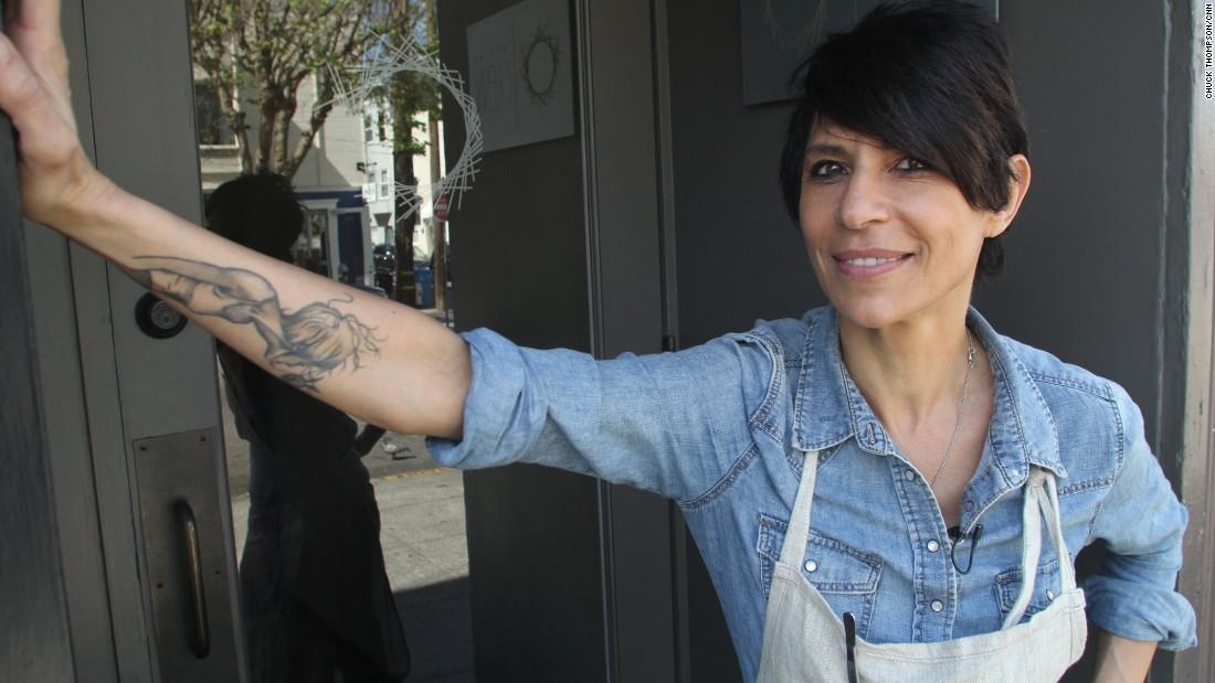 Dominique Crenn - image courtesy of cookgirl