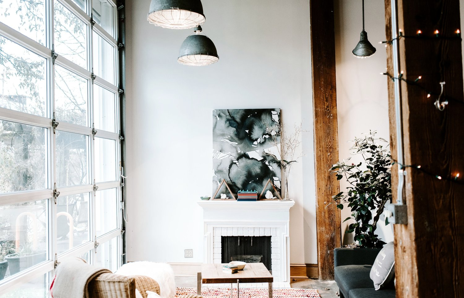 Industrial, comfy, cute, pastels - can we stay here all day?!