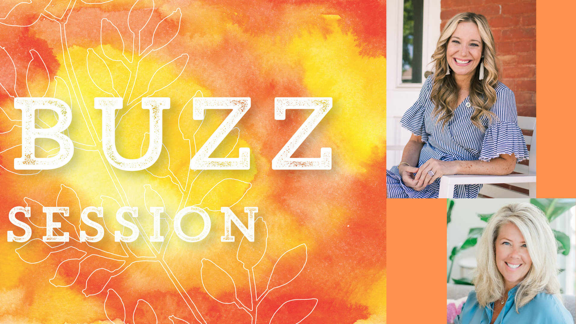 Join Ayesha Dawley and Michael Kithcart at December's Buzz Session!