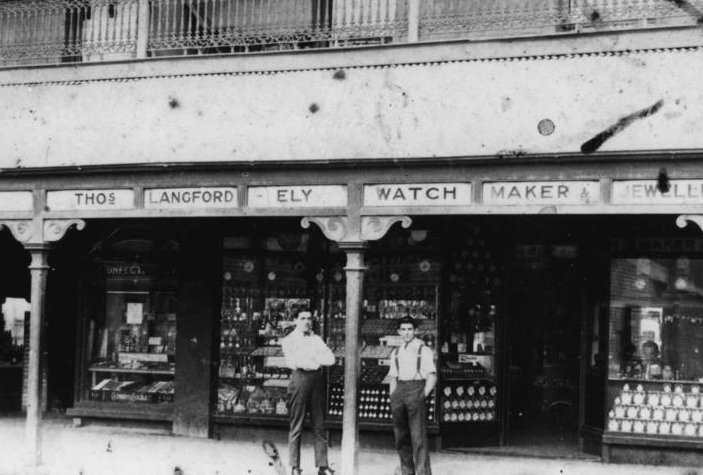 our history - Our reputation for exceptional service and craftsmanship dates back four generations. Pictured is the original store located on Logan Road, Woolloongabba. Image courtesy of the Queensland State Library Archive.