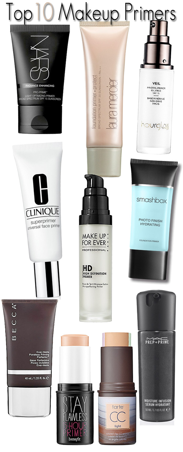 Top 10 Makeup Primers