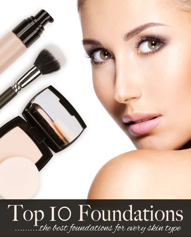 Top 10 Foundations for Every Skin Type