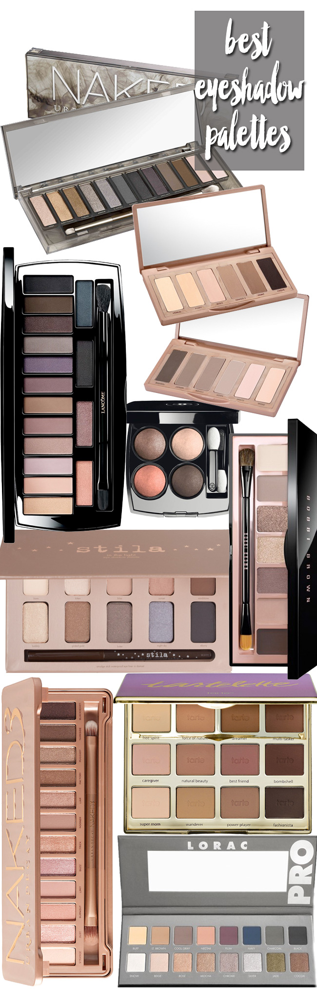 The BEST Eyeshadow Palettes to Add to Your Makeup Collection