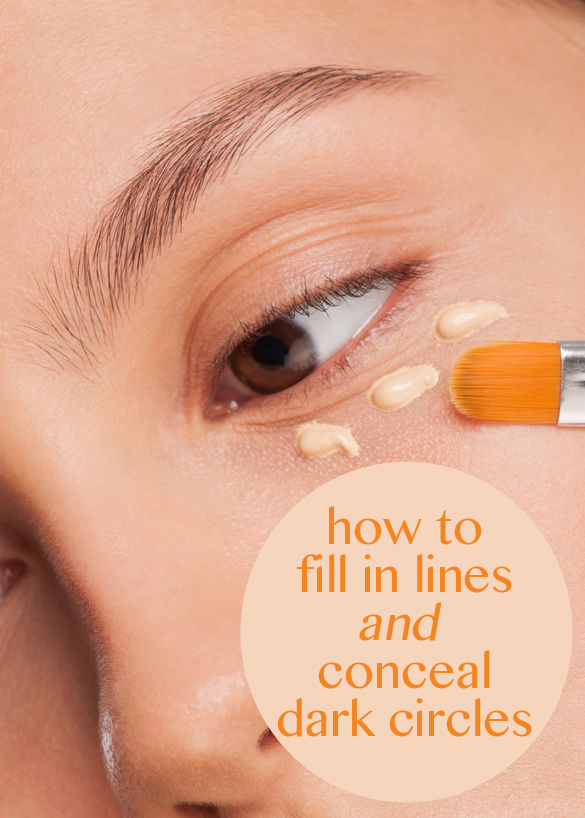 This one product fills in lines AND conceals dark circles!
