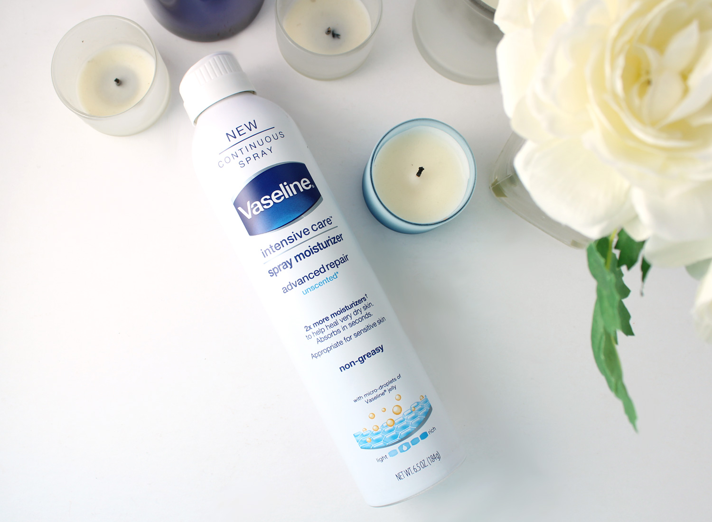 Fall Must Have: Vaseline Intensive Care Advanced Repair Spray Moisturizer