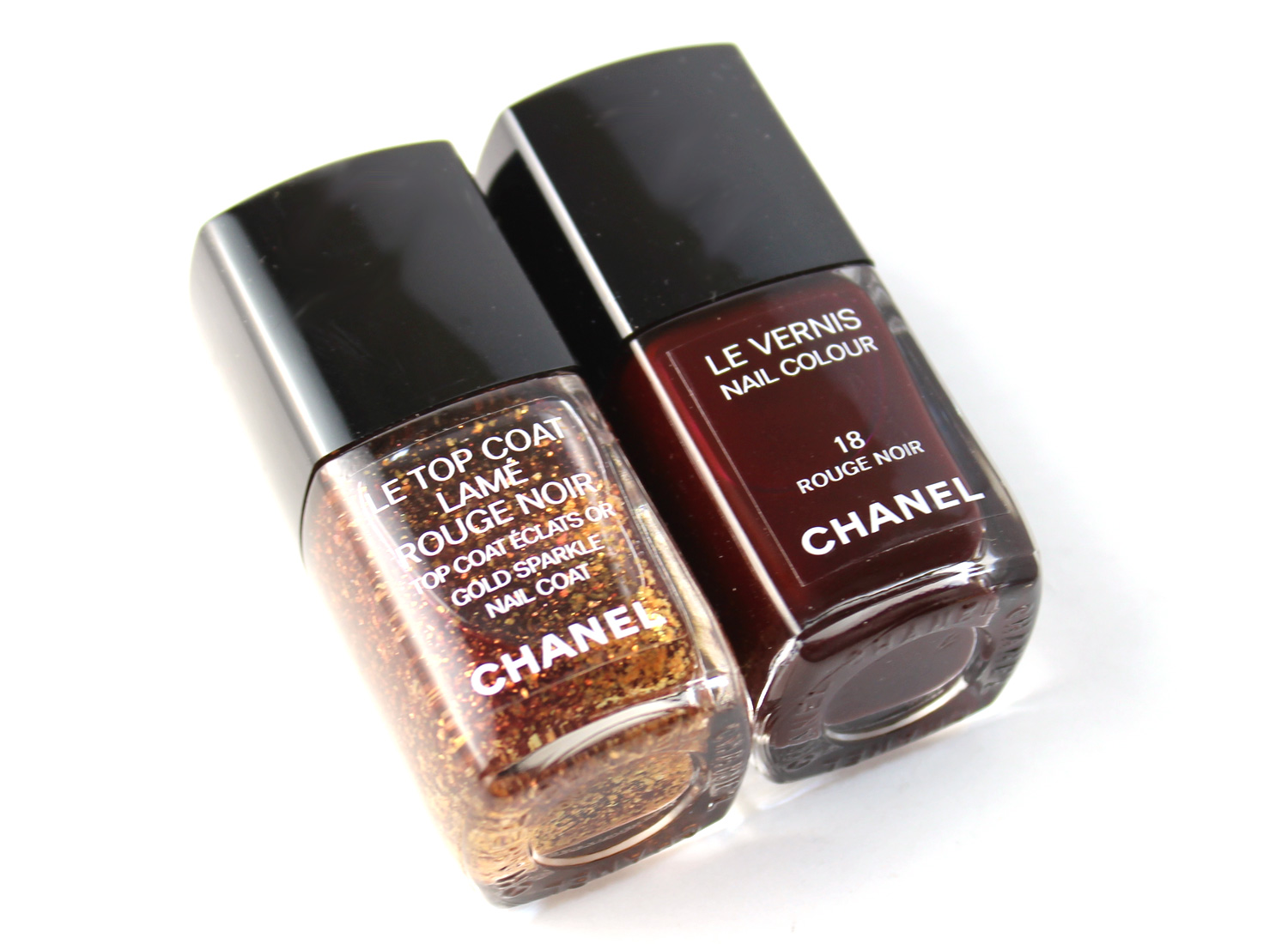 Chanel Collection Vamp Attitude Nail Polishes