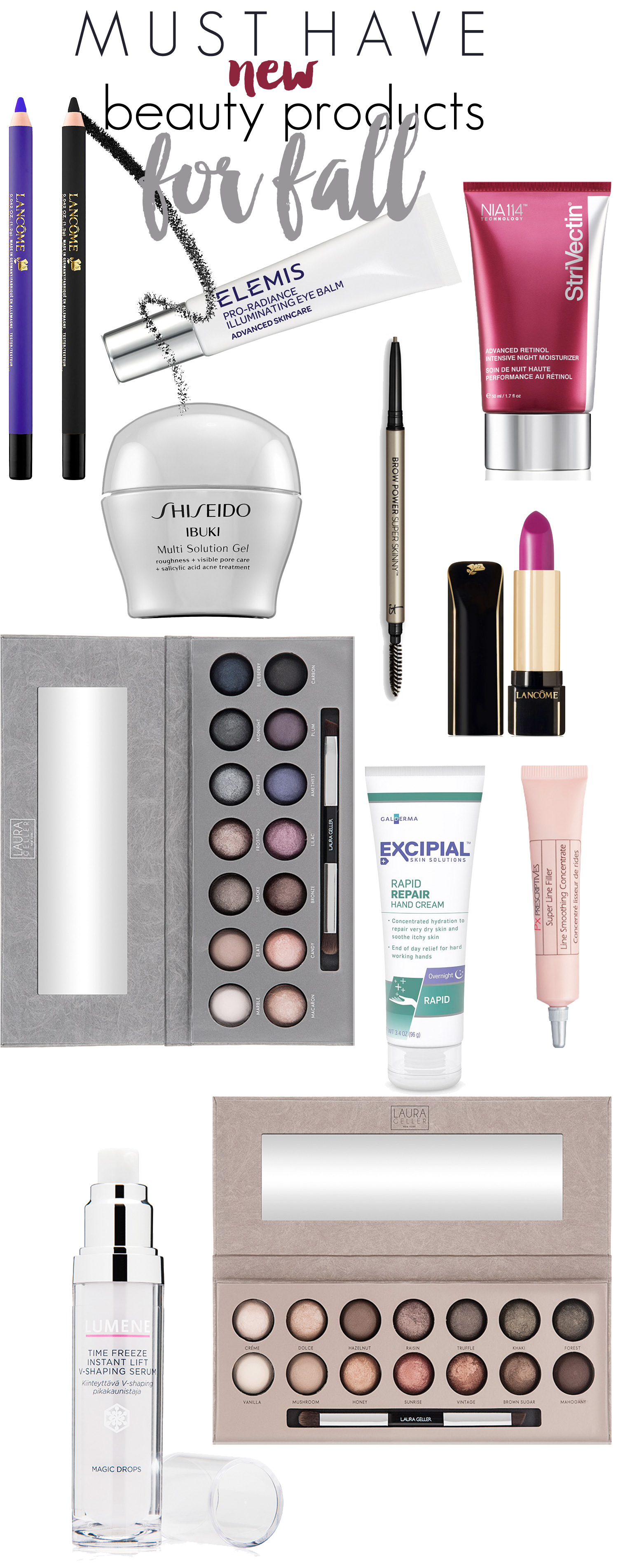 Must Have New Beauty Products for Fall