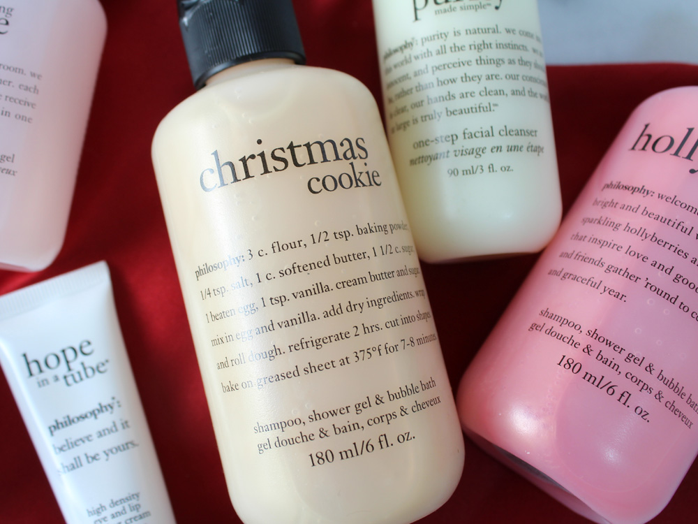 philosophy Gift of Joy Collection with Holiday Stocking