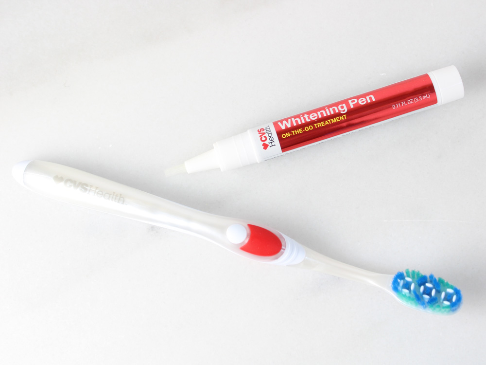 CVS Health Whitening Pen and Toothbrush