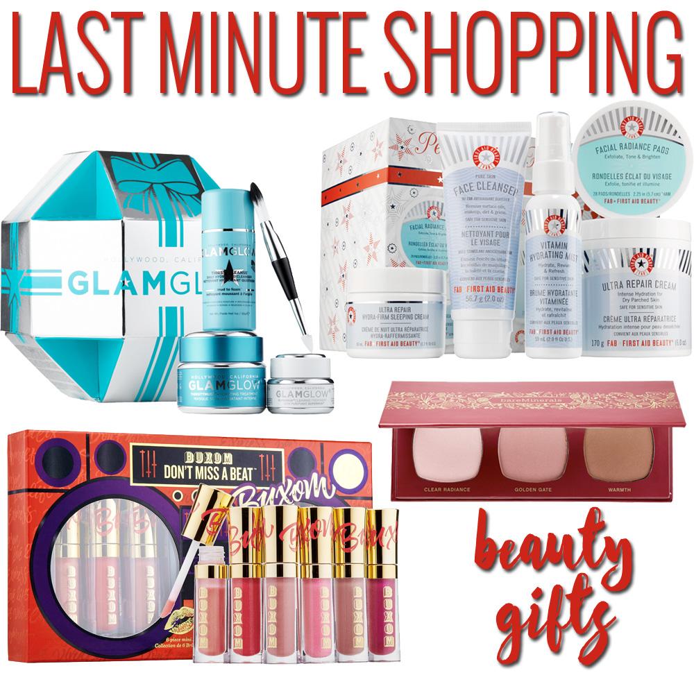 Last minute beauty gift ideas!