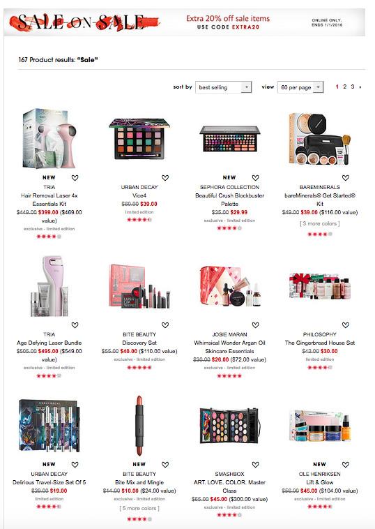Sephora Sale on Sale Alert