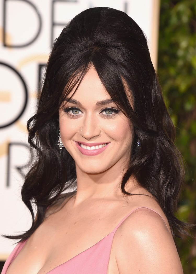 Get the Look: Katy Perry at the 2016 Golden Globe Awards