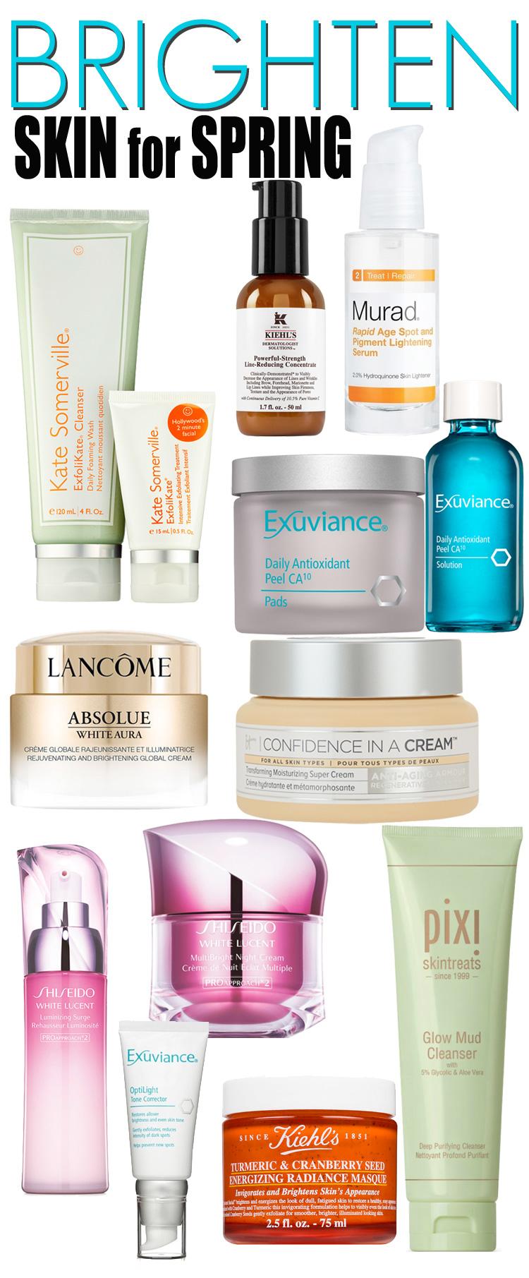 10 Ways to Brighten Skin for Spring