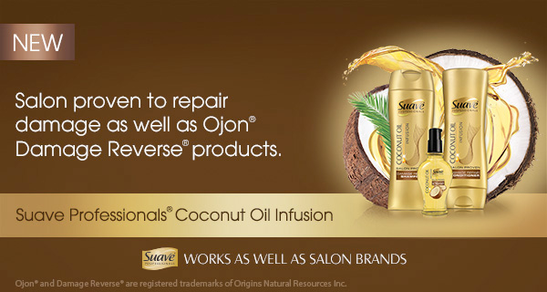 Suave Coconut Oil Infusion Hair Care