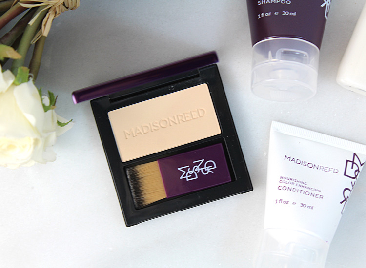 Quick + Easy Instant Coverage from Madison Reed Root Touch Up!