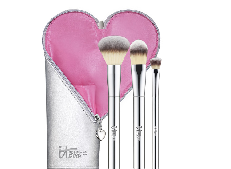 IT Cosmetics Ulta Fall In Love With Brushes Limited-Edition 3-Piece Set