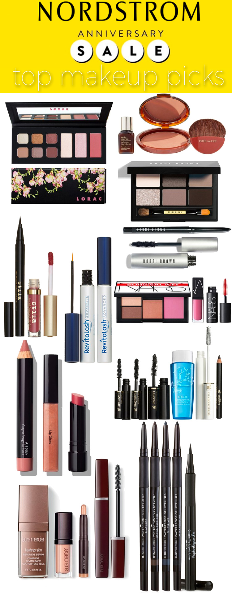 Top 10 Nordstrom Anniversary Sale Makeup Picks 2016