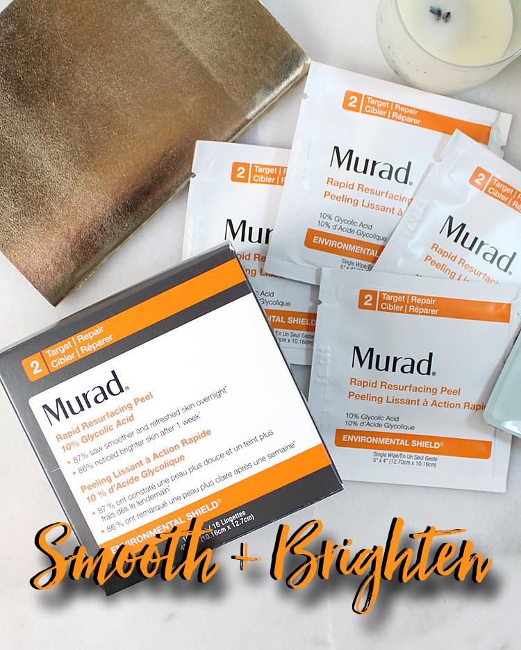 Smooth + Brighten Skin with Murad Rapid Resurfacing Peel