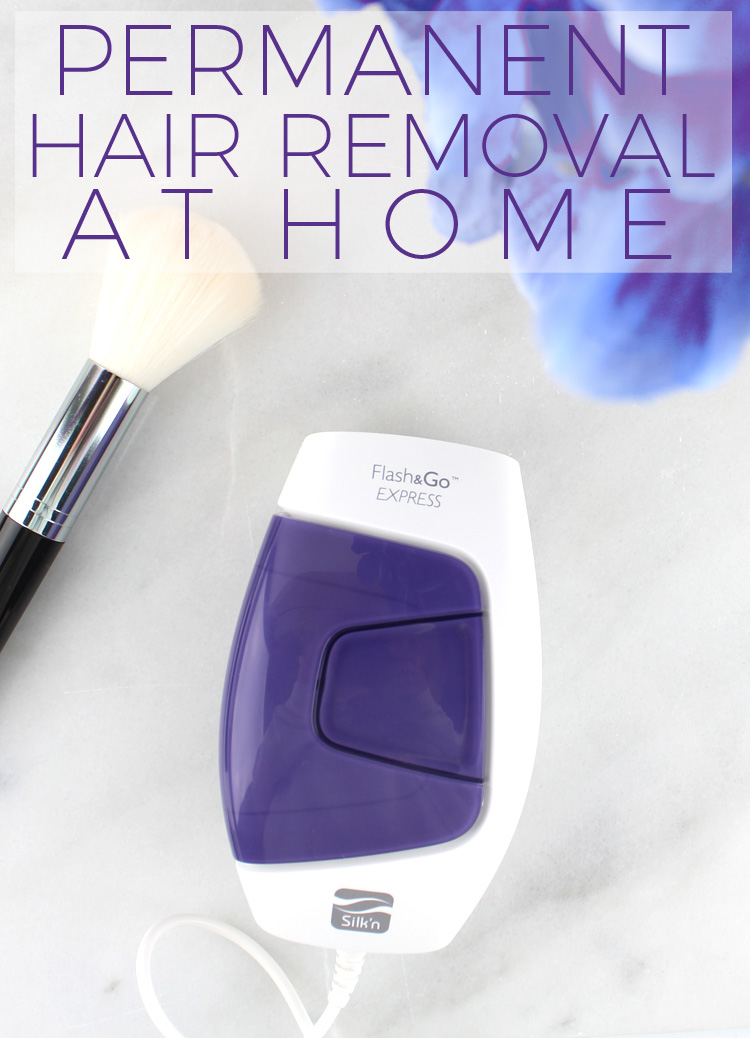 Permanent Hair Removal with Silk'n Flash&Go Express