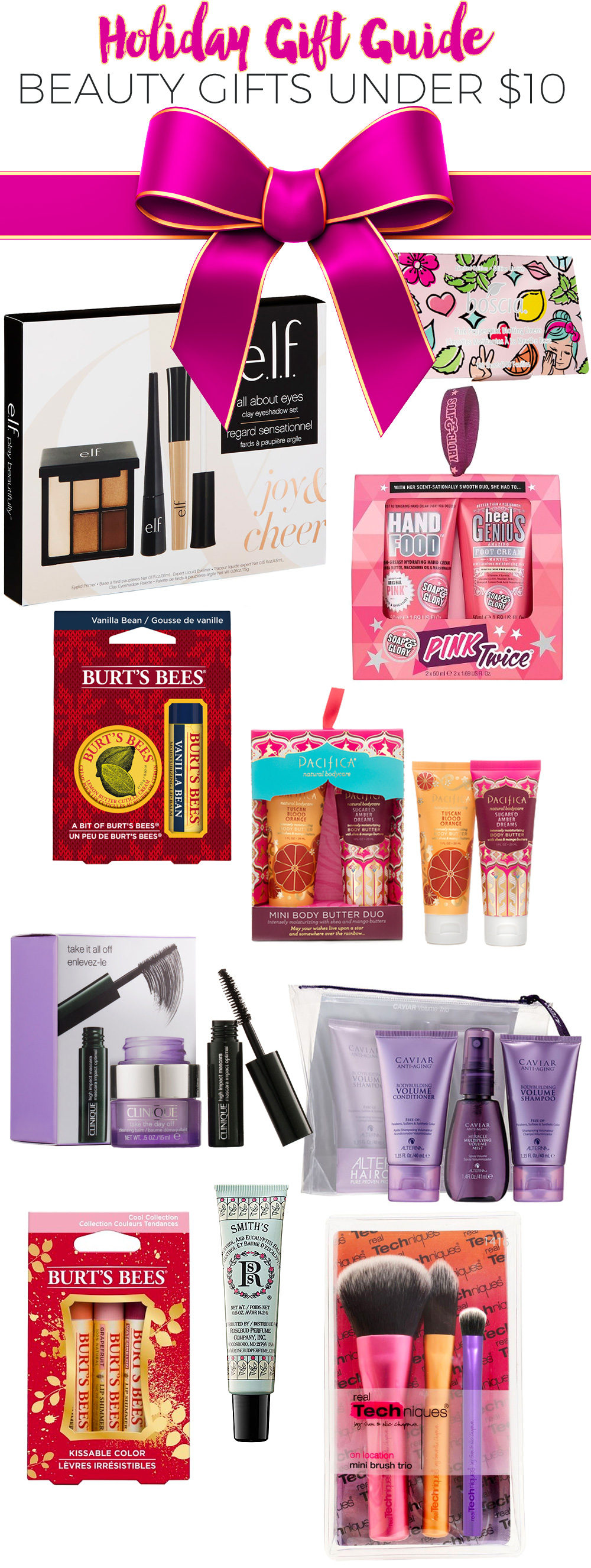 Top 10 Beauty Gifts Under $10