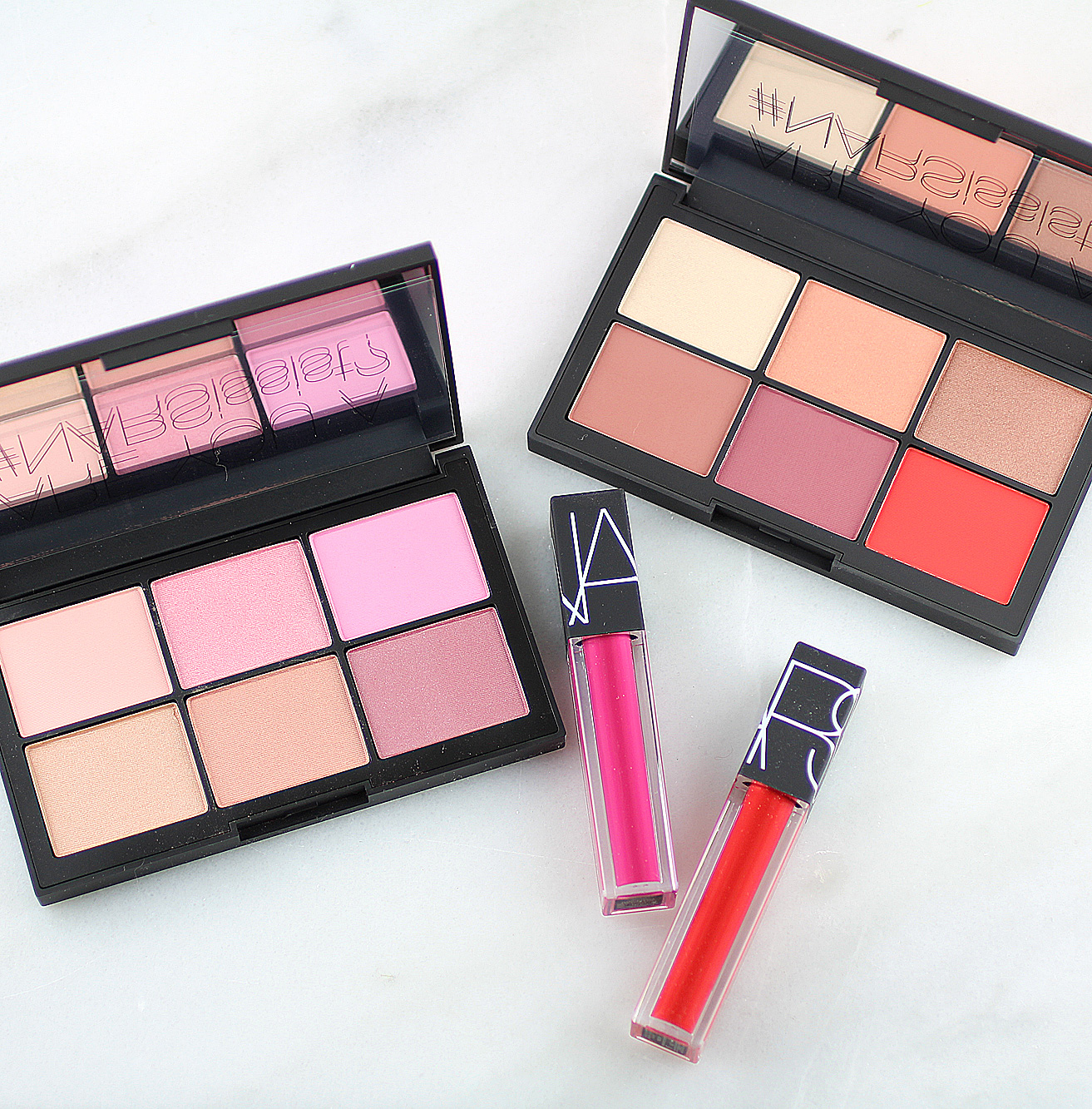 Spring 2017: NARS NARSissist Unfiltered Cheek Palettes