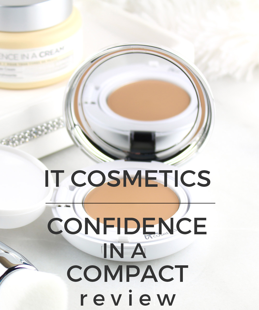 IT Cosmetics Confidence in a Compact Review