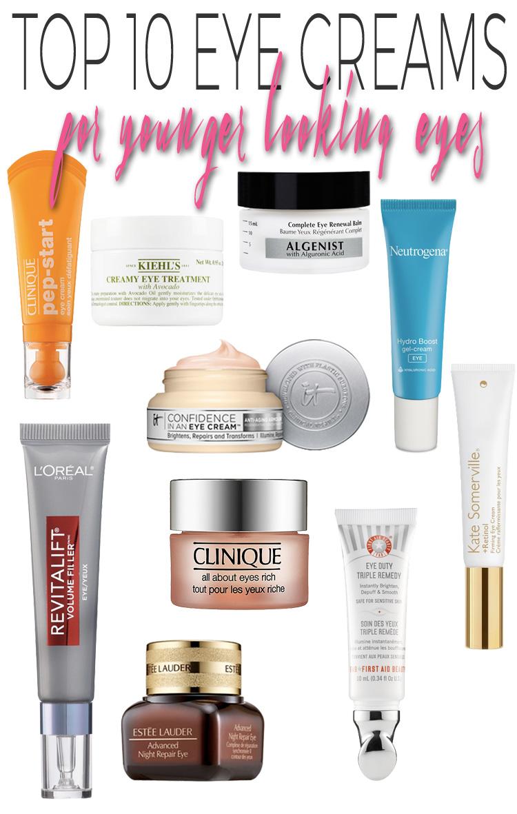 Top 10 Eye Creams