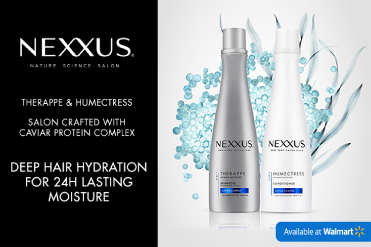 Simple Hair Care Routine with Nexxus