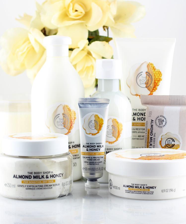 The Body Shop Almond Milk & Honey Collection