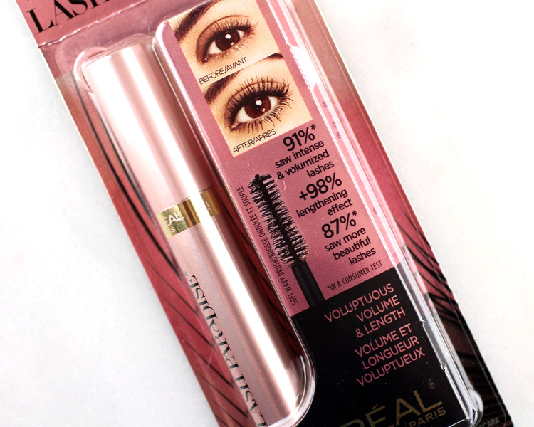 316136a924f L'Oréal Lash Paradise Mascara Review. — Beautiful Makeup Search