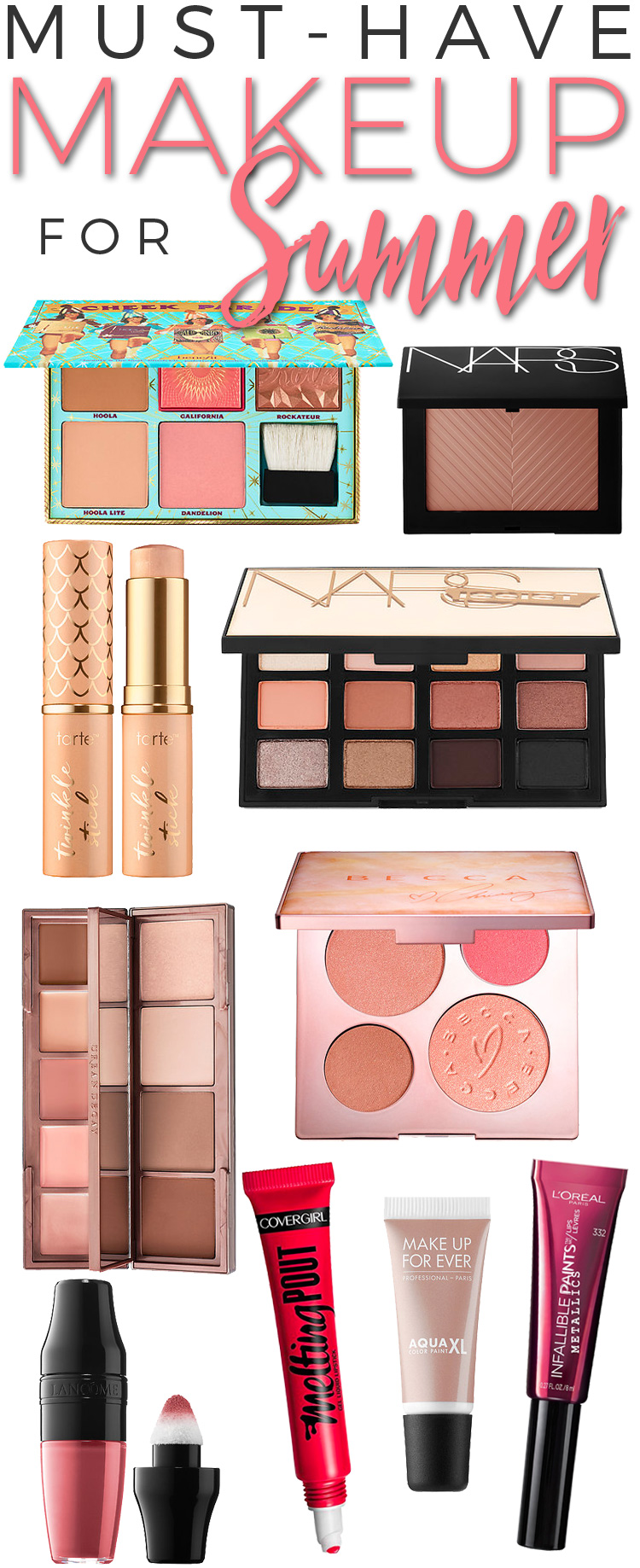 10 Must Have Makeup Products For Summer