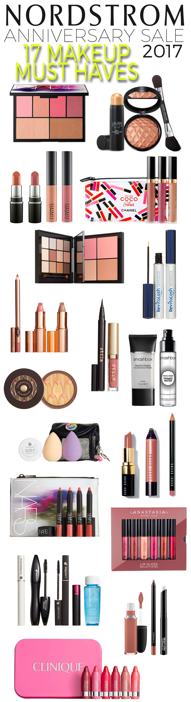 Nordstrom Anniversary Sale 2017: 17 Makeup Must Haves