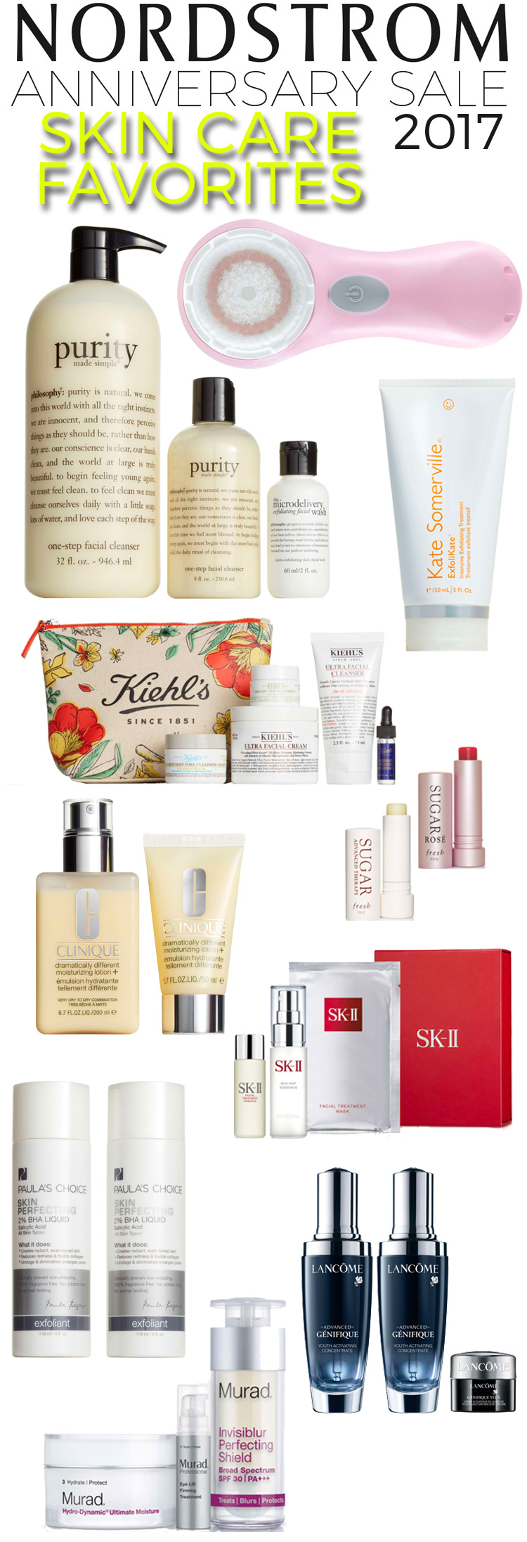 Nordstrom Anniversary Sale 2017: 10 Skincare Favorites
