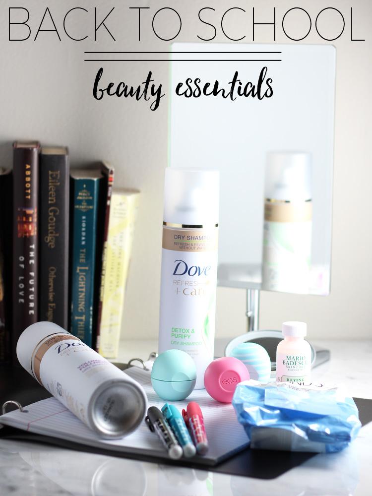 Back to School Beauty Essentials
