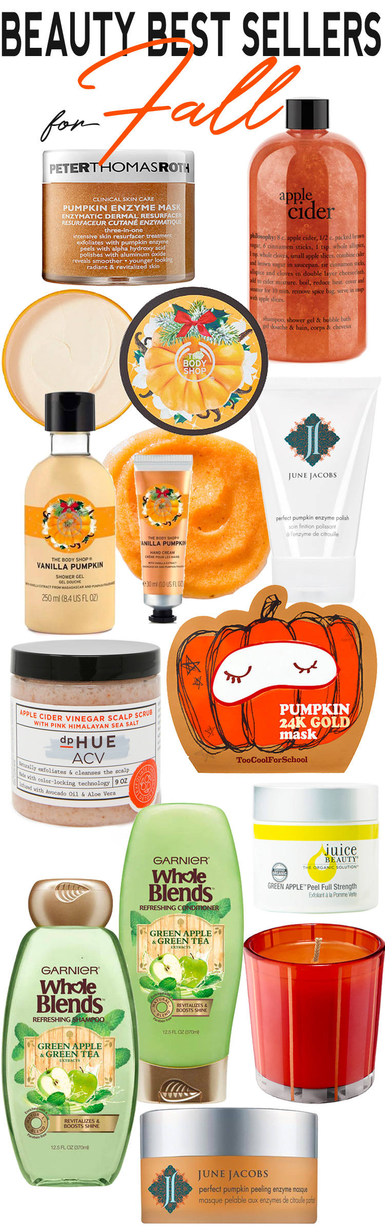 Beauty Best Sellers for Fall