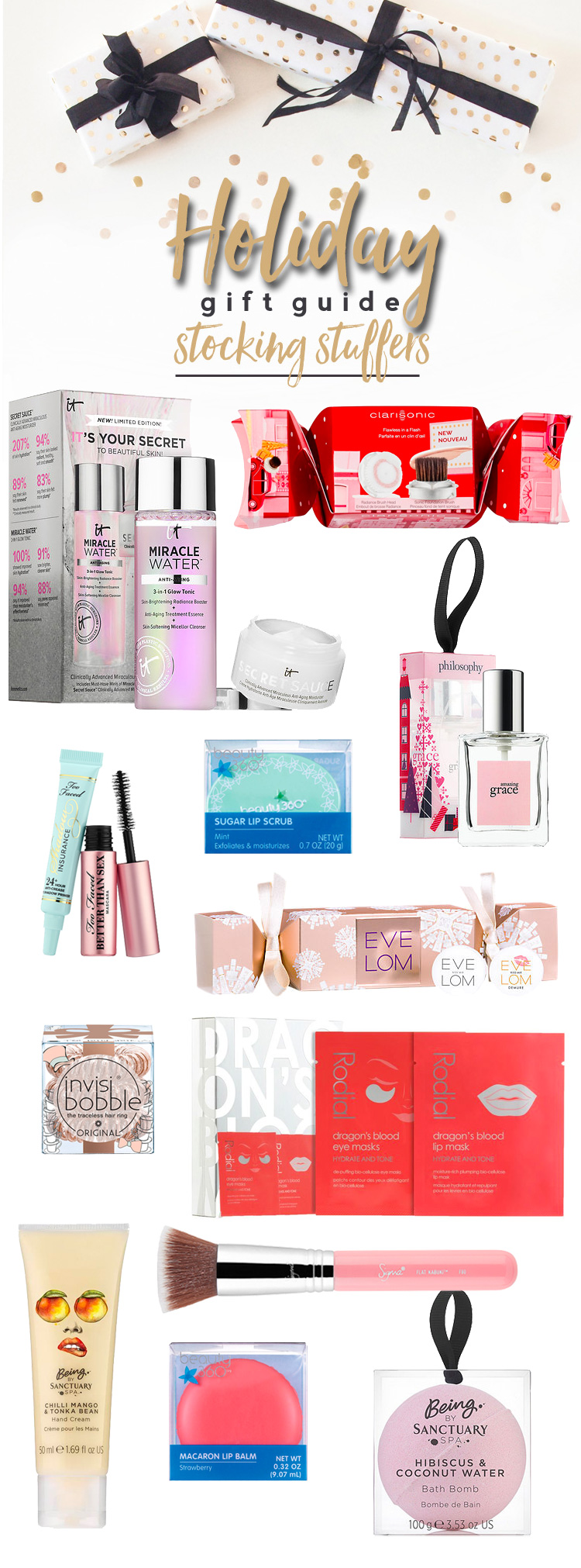 Holiday Gift Guide 2017: Beauty Stocking Stuffers