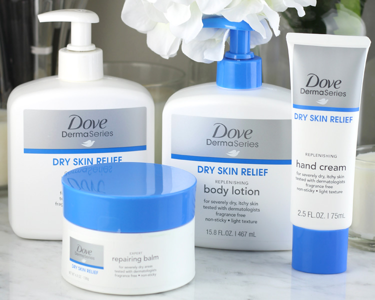 Finding a Solution for Dry Skin with Dove DermaSeries at Target